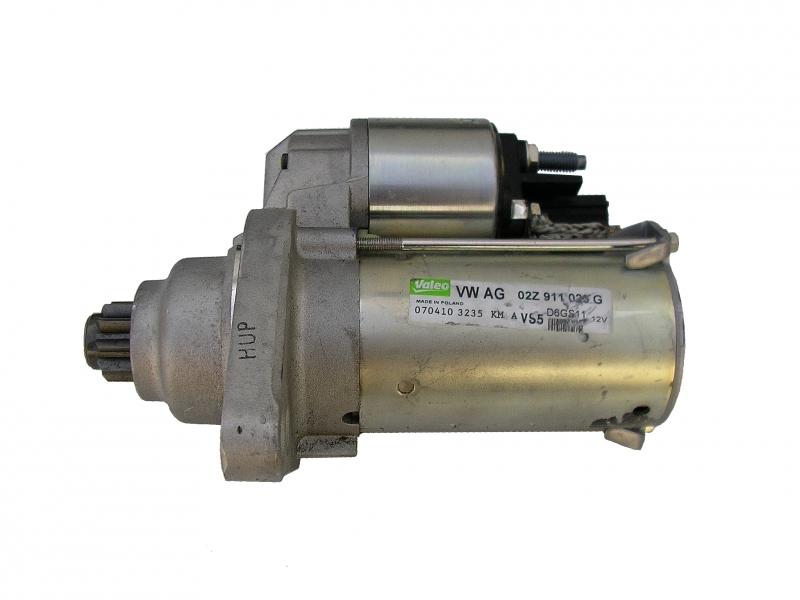 Starter spouštěč motoru 1.1 kW 02Z911023G 02Z911023E