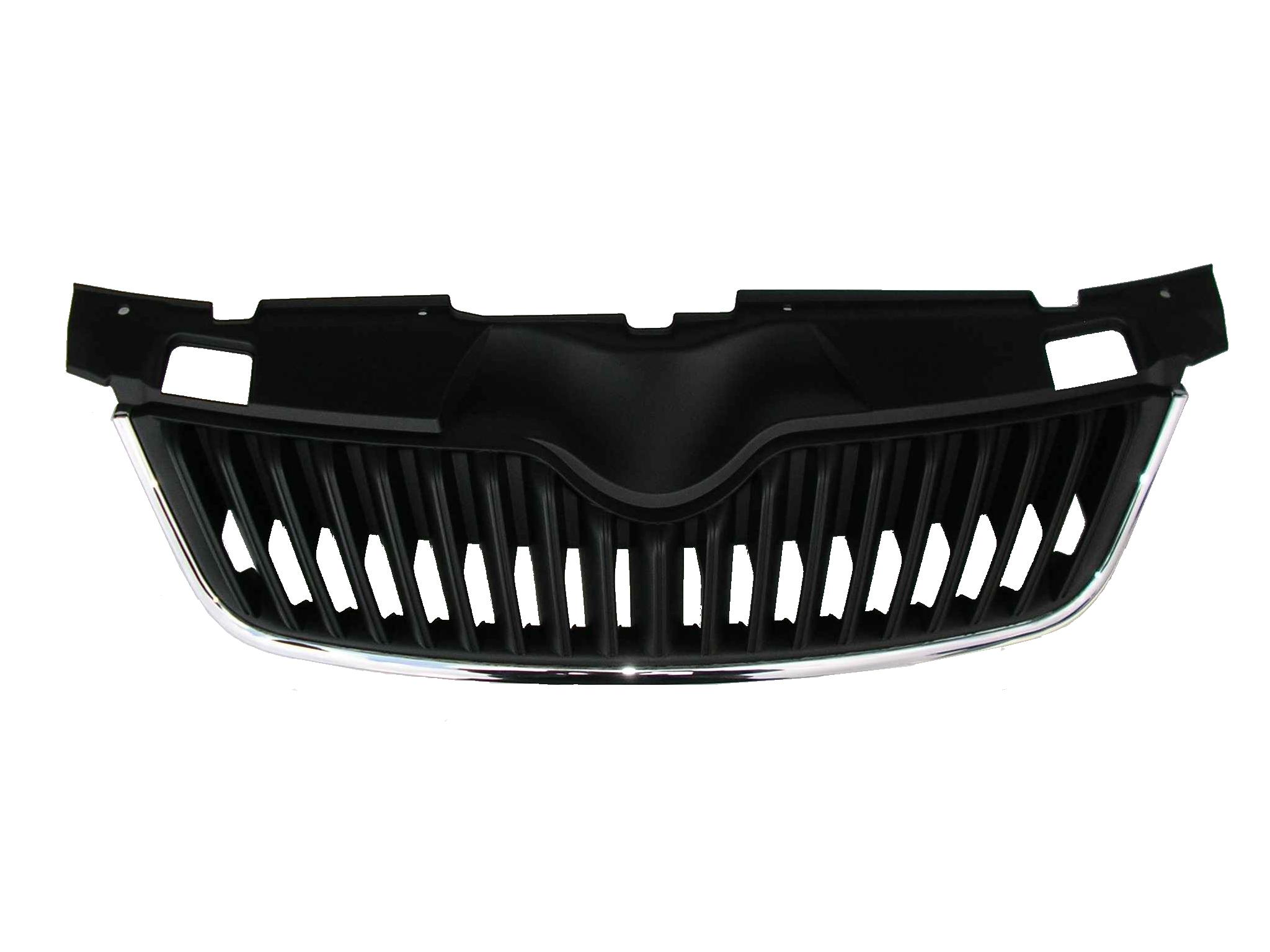 Maska chladiče mřížka FABIA II chromová 5J0853668C
