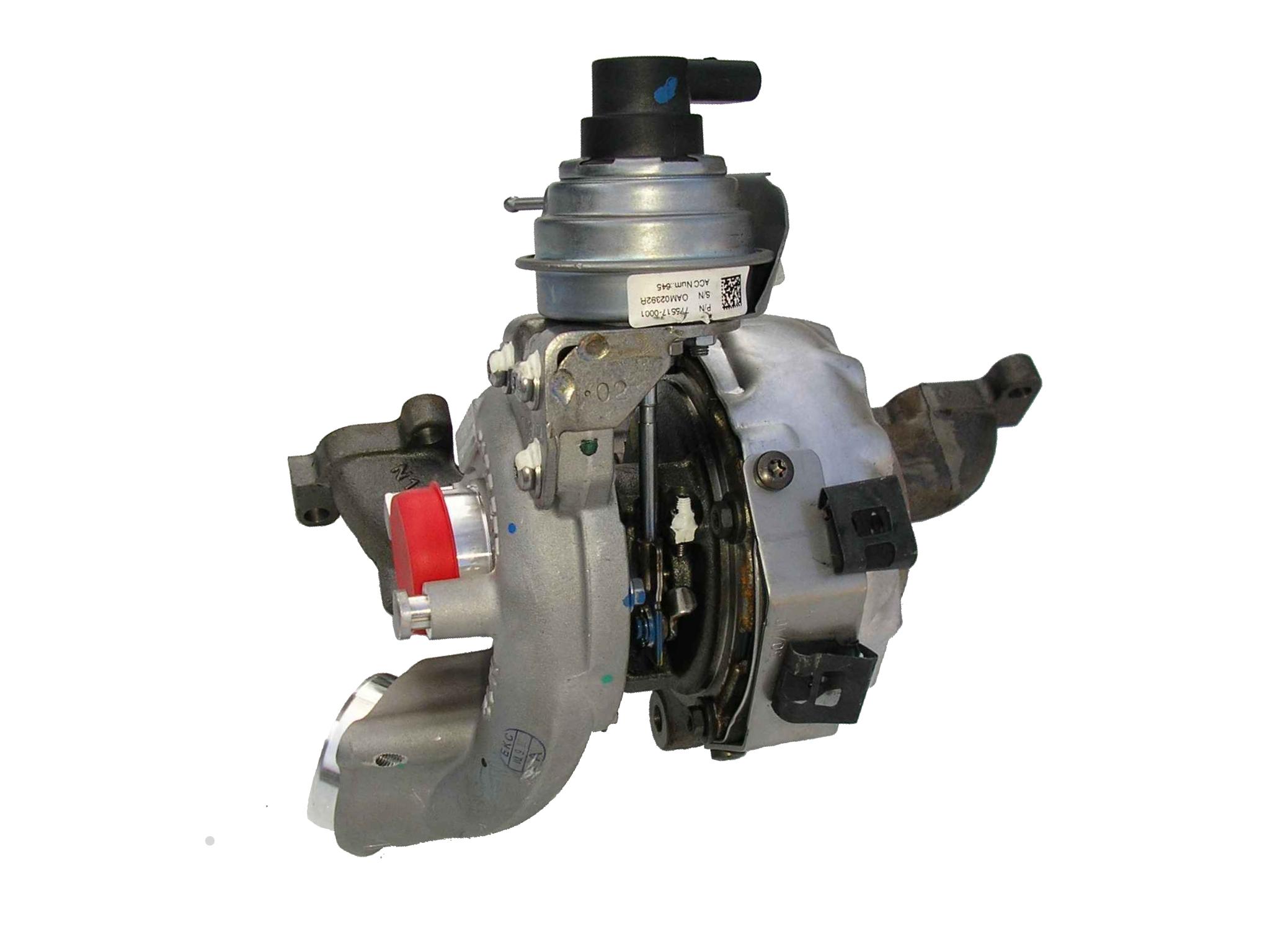 Turbodmychadlo turbo 1.6 TDi CRI , Octavia 2, Superb 2, Yeti 03L253016T OE