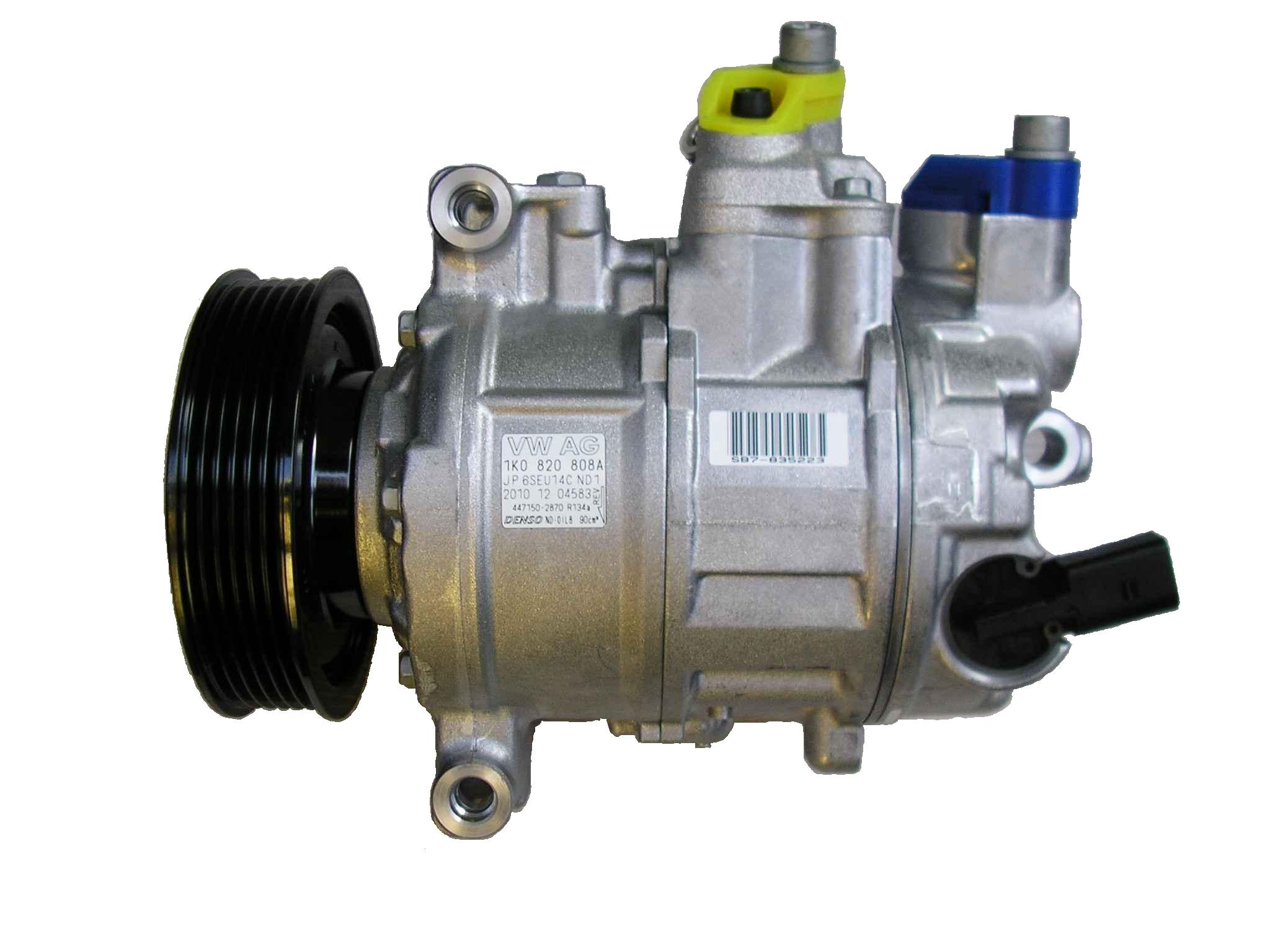 Kompresor klimatizace Denso OCTAVIA II 1K0820808A 1K0820859S