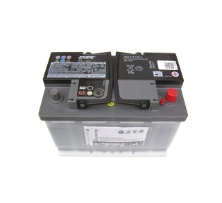 Autobaterie 12V 72Ah 380A  JZW915105A OE
