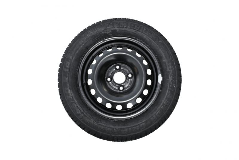 Sada ocelových kol 4x100 ET35 s pneu Master Grip 165/70 R14 T