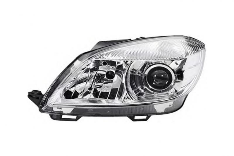 Světlomet, světlo přední levé Škoda Fabia II, Roomster H7 5J1941017D D+