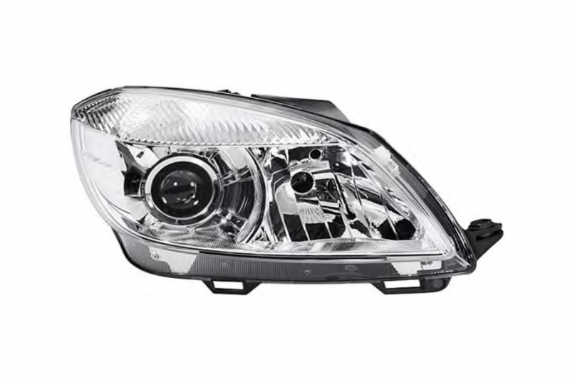 Světlomet, světlo přední pravé Škoda Fabia II, Roomster  H7 5J1941018D D+